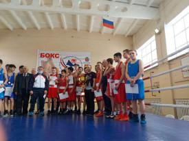 1й этап кубка Оренбургской области по боксу