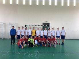 Первенство училища по мини-футболу