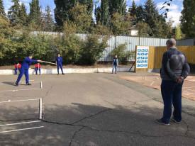 Открытый турнир по городошному спорту .